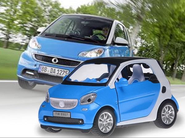 โมเดลรถเหล็ก โมเดลรถยนต์ Benz Smart 1