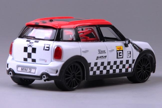 โมเดลรถ โมเดลรถเหล็ก โมเดลรถยนต์ BMW mini country No 13 4