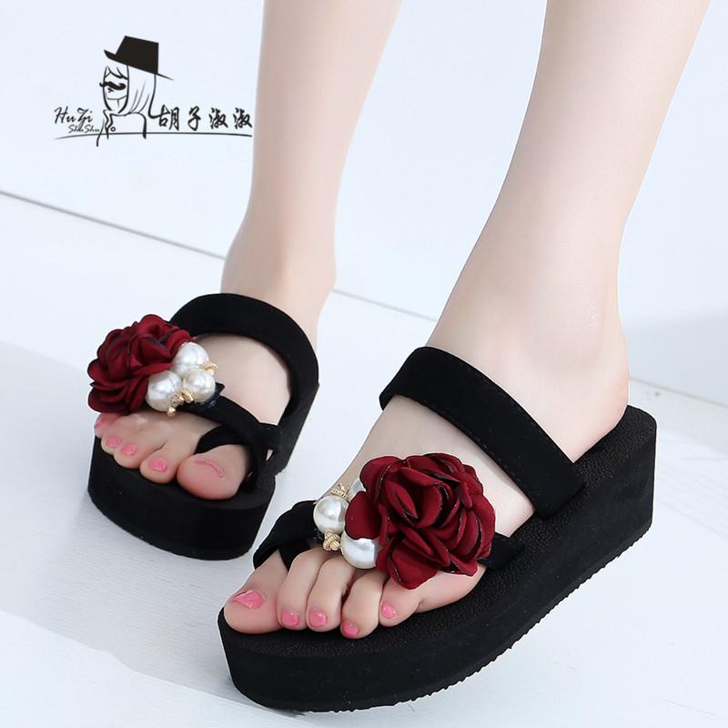 รองเท้าแฟชั่น รองเท้าแตะ รองเท้ามัฟฟิน Slippers summer outdoor fashion shoes