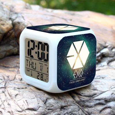 พร้อมส่ง นาฬิกาปลุก EXO