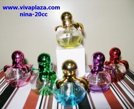 น้ำหอมพร้อมใช้ในขวดทรง Nina ขนาด 20 cc(ส6) 1 ขวด 400 บาท ส่งฟรี