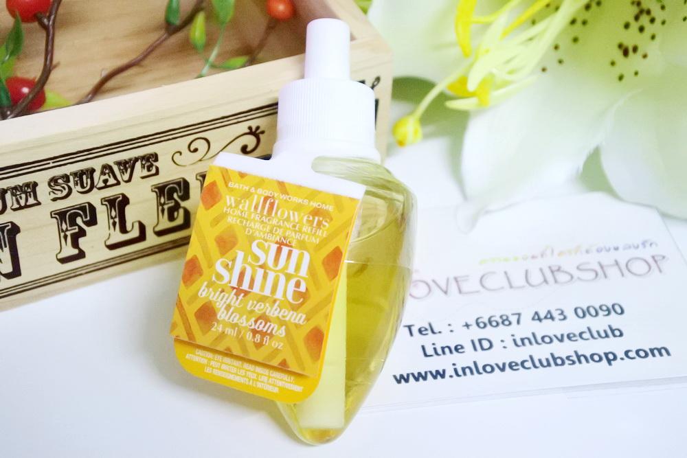 Bath & Body Works / Wallflowers Fragrance Refill 24 ml. (Sunshine - Bright Verbena Blossoms)
