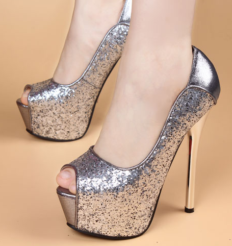 รองเท้าส้นสูง รองเท้าส้นสูงหัวแหลม รองเท้าส้นสูงเปิดหน้า