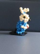 """ตุ๊กตากระต่ายตั้งโชว์#RBT002 ขนาด3.5"""""""