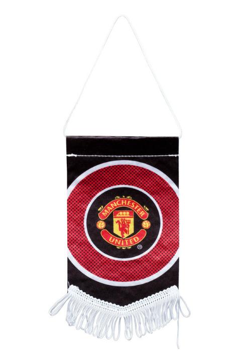 ธงที่ระลึกแมนเชสเตอร์ ยูไนเต็ดของแท้ Manchester United Bullseye Pennant