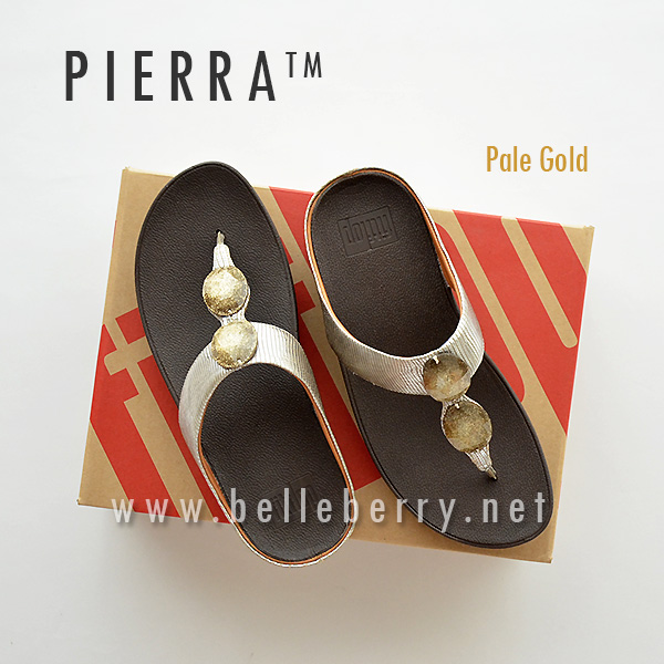 * NEW * FitFlop Pierra : Pale Gold : Size US 5 / EU 36