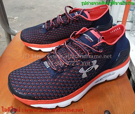 รองเท้าวิ่ง Under Amour งานมิลเลอร์ ไซส์ 40-45 (สีกรมส้ม)