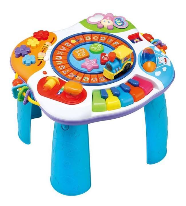 โต๊ะกิจกรรมขนาดใหญ่winfun letter train and piano activity table