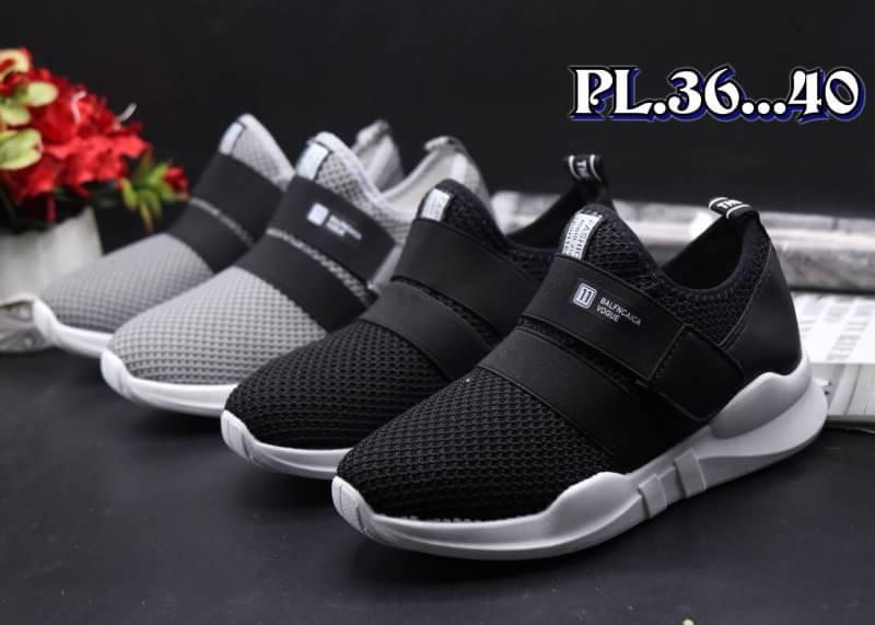 รองเท้าผ้าใบแฟชั่นทรง sport วัสดุผ้ายืดหยุ่นนุ่มมาก ใส่ดีกระชับเท้า