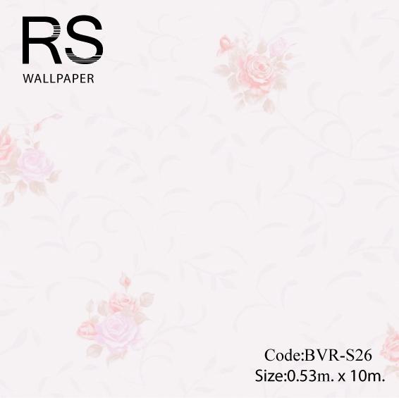วอลเปเปอร์ลายดอกไม้ BVR-S26