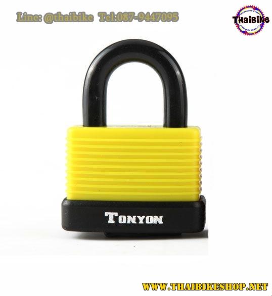 กุญแจล็อคแบบมียางเคลือบ TONYON