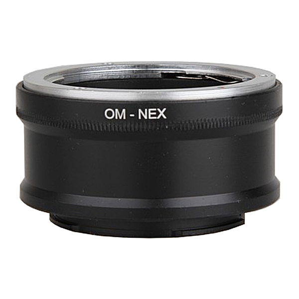 OM-NEX Lens Mount Adapter Olympus OM Sony NEX E-mount Camera