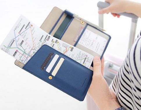 กระเป๋าใส่หนังสือเดินทาง