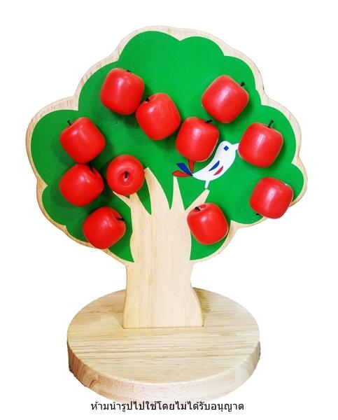 ต้นแอปเปิ้ล สอนนับเลข