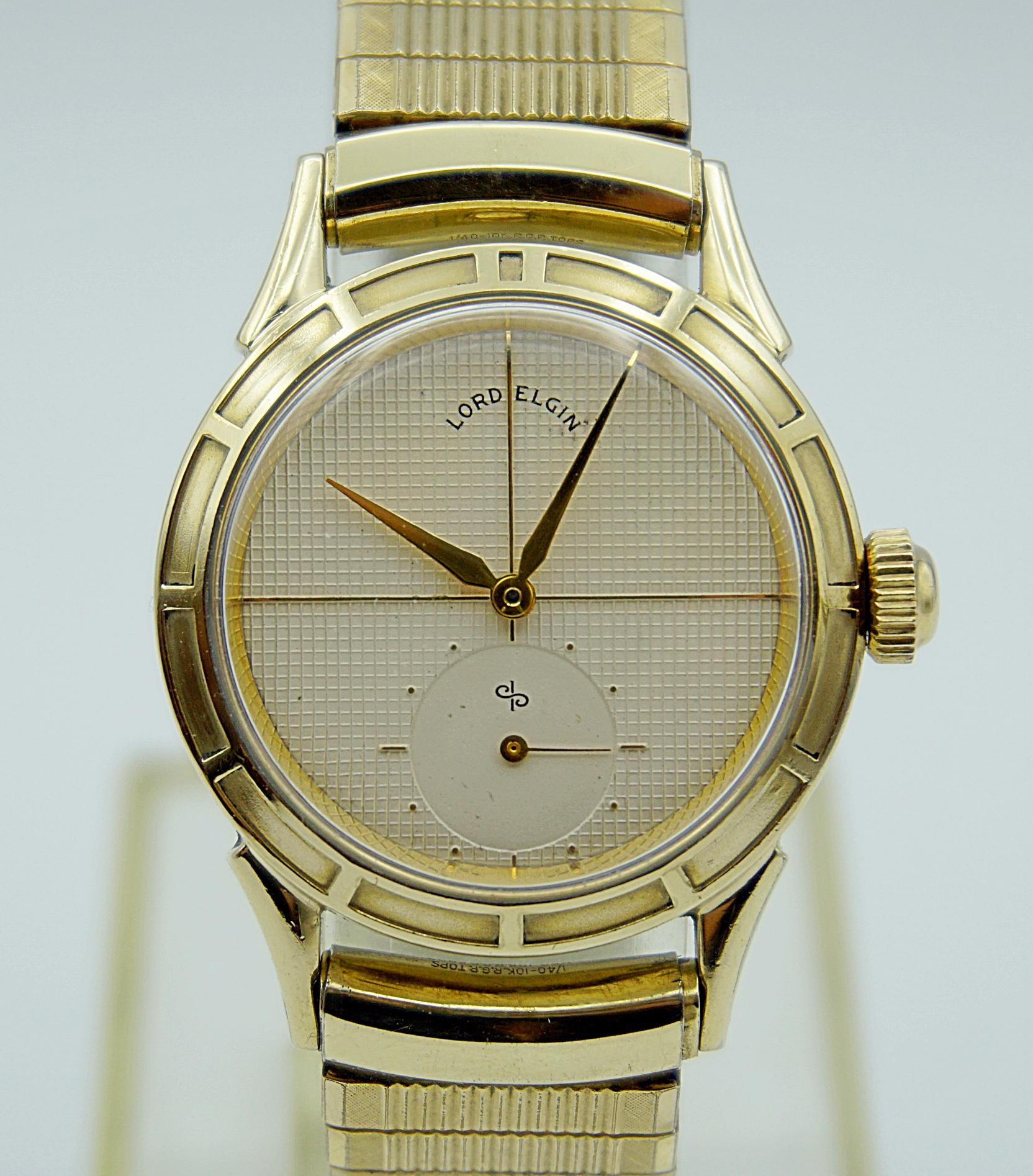 นาฬิกาเก่า LORD ELGIN ไขลานสองเข็มครึ่ง