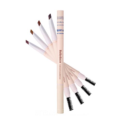 ดินสอเขียนคิ้ว It's skin Babyface Natural Eyebrow #1 Natural Black