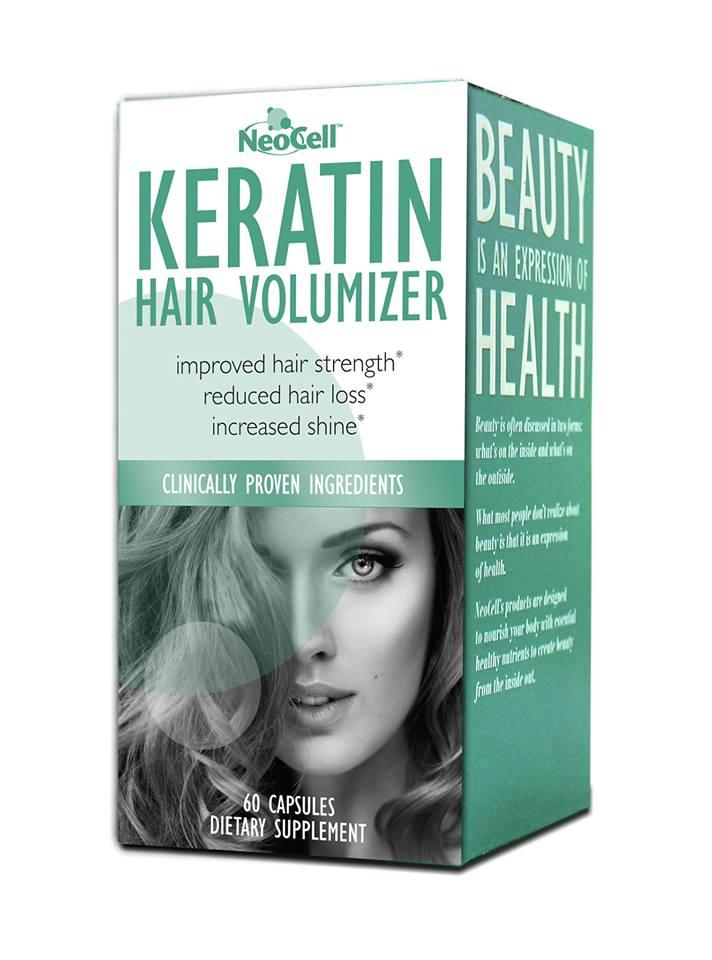 Keratin Hair Volumizer / 60 Capsules ( Neocell )