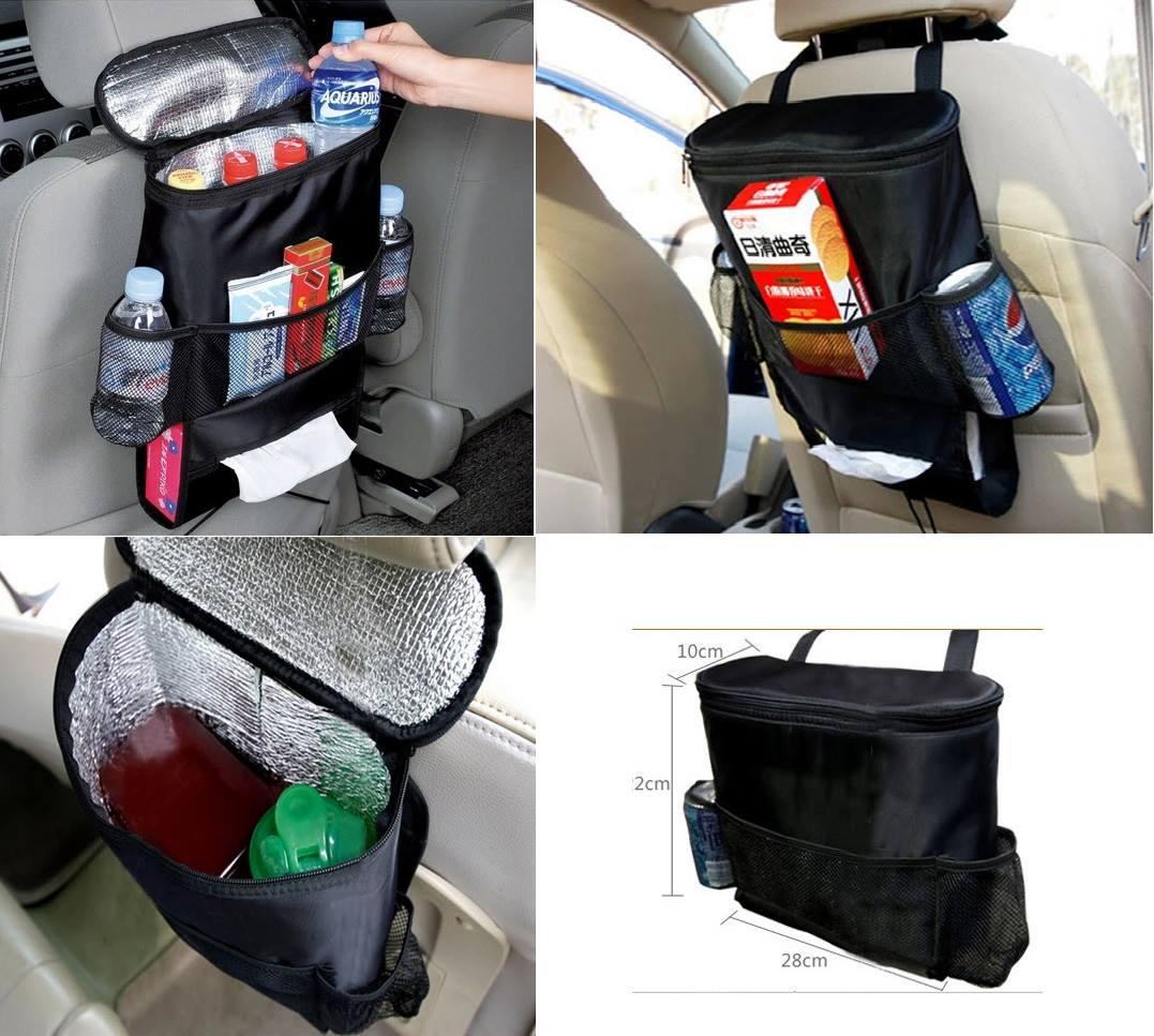 กระเป๋าใส่ของหลังเบาะในรถยนต์ ส่งฟรี