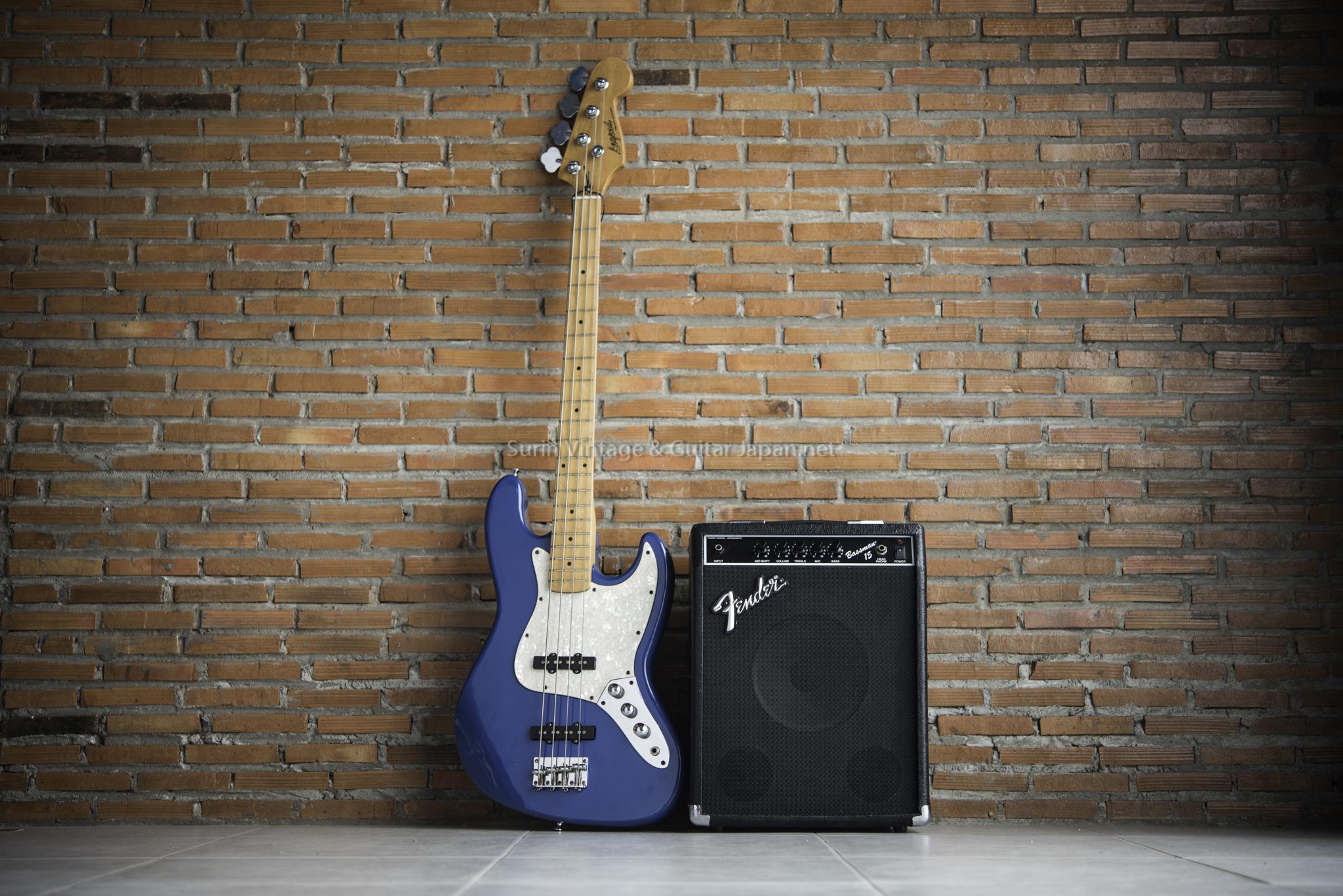 แอมป์เบสไฟฟ้ามือสอง Fender Bassman 15 No.4