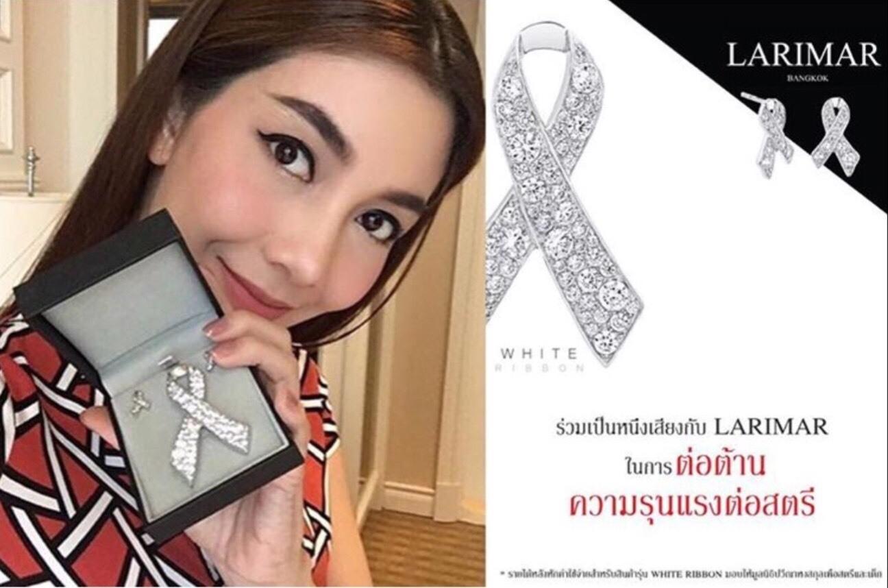 เข็มกลัดติดชุดไทยจิตรลดาใส่ไว้อาลัยพ่อหลวง