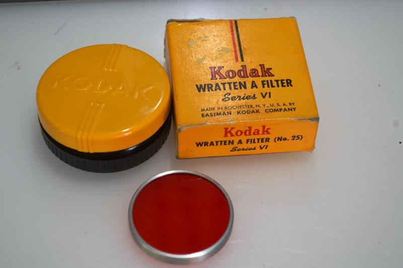 KODAK WRATTEN A FILTER SERIES VI (NO.25 RED COLOR)