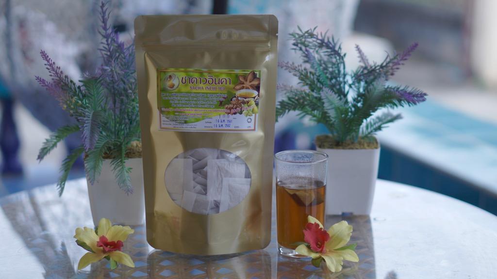ชาอินคาชงน้ำร้อน สูตร3(เปลือกใบ+ใบเตยชะเอม) 100ชิ้น