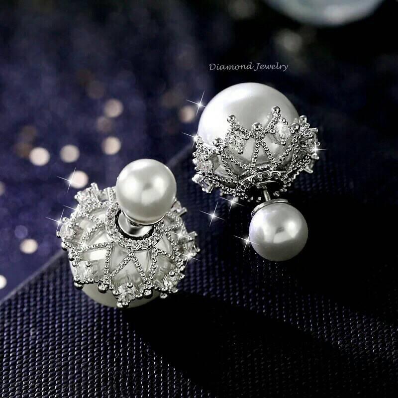 พร้อมส่ง Christian Dior Earring ต่างหู Dior งานอย่างดี