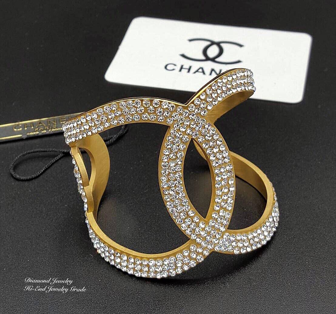 Chanel Cuff เพชร 3 แถว งานเกรด
