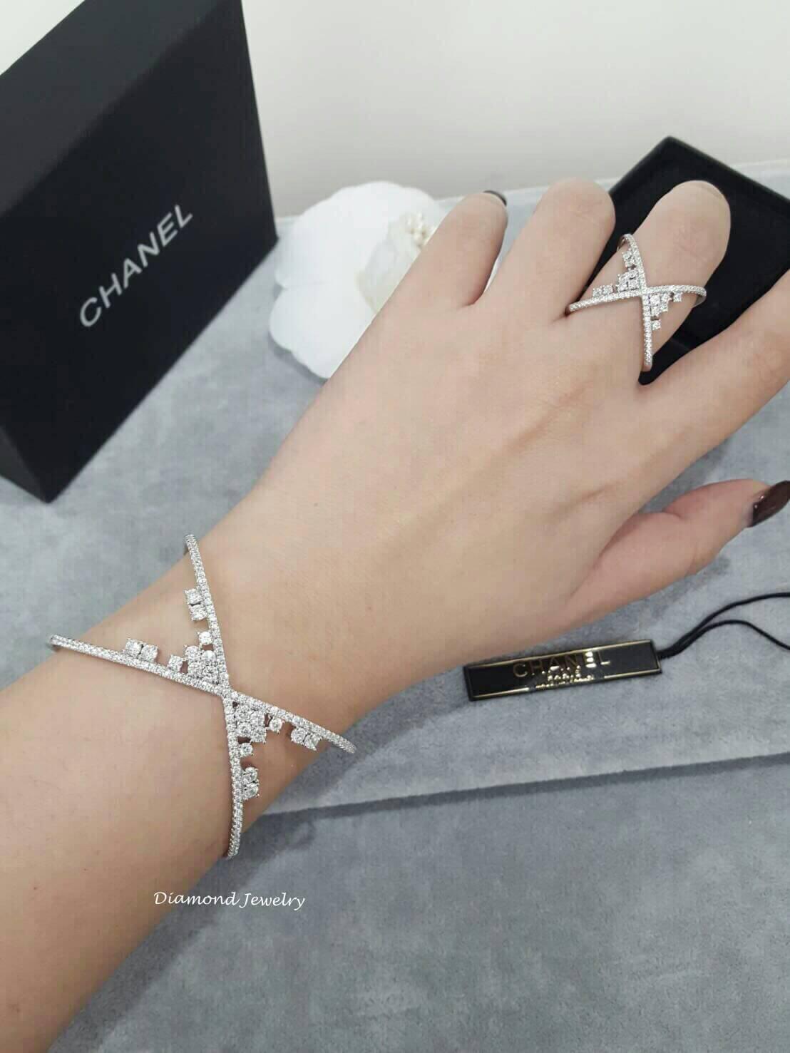 พร้อมส่ง Diamond Bangle & Ring