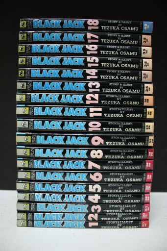 Black Jack หมอปีศาจ 1-22 จบ (ขาดเล่ม 17)
