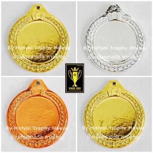 เหรียญรางวัล/กีฬา ติดโลโก้ ML-003 ( 2 Size )