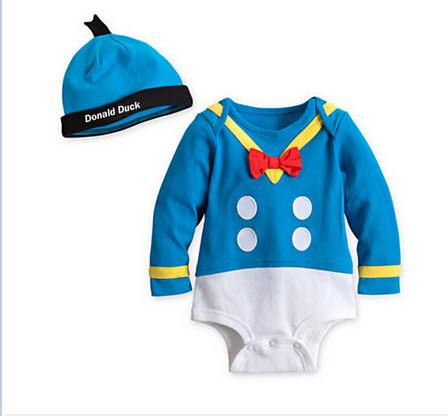 บอดี้สูทโดนัล +หมวก