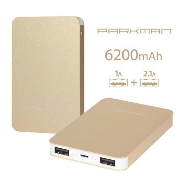 แบตสำรอง power bank parkman T60 6200 mAh ราคา 350 บาท