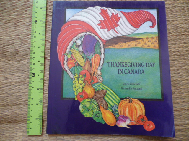 Thanksgiving Day in Canada (Paperback)
