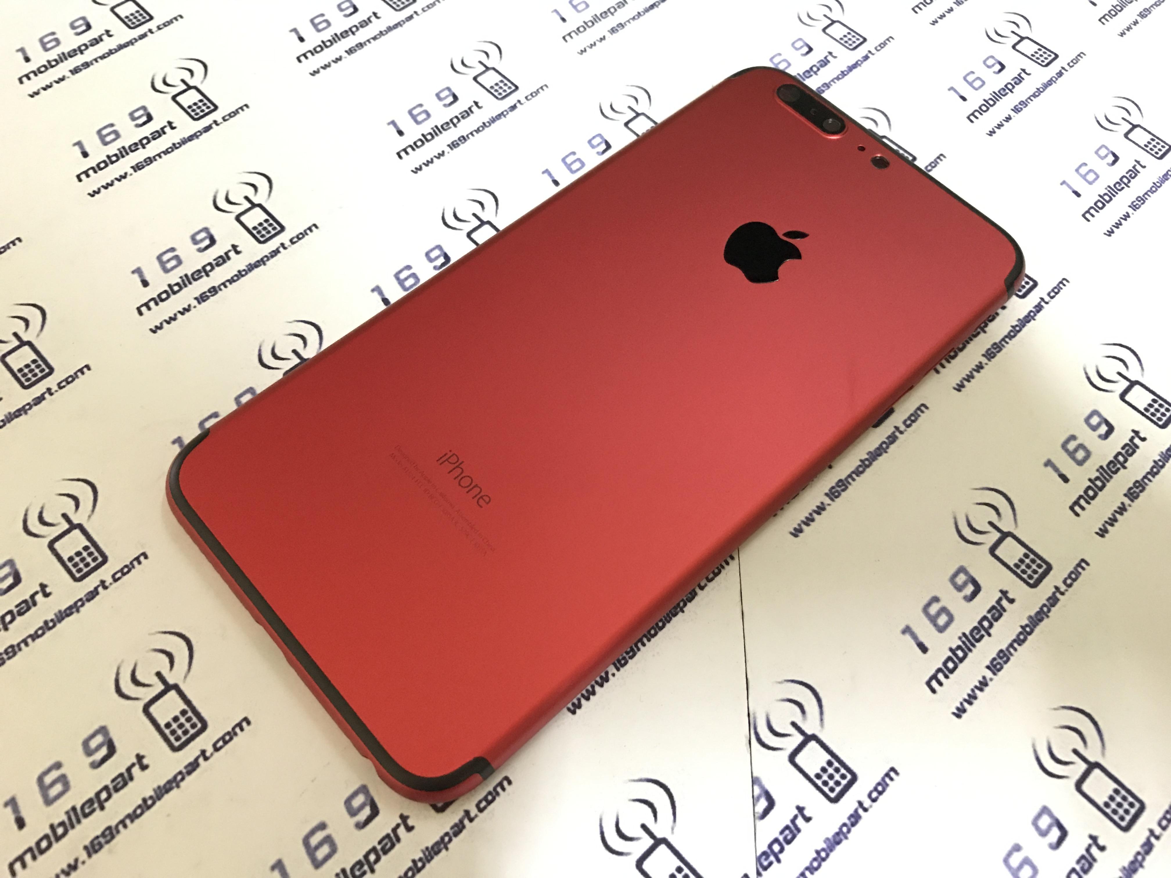 บอดี้ iPhone 6S Plus แปลง i7 Plus สีแดง