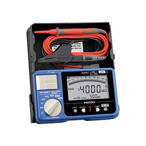 เครื่องทดสอบความเป็นฉนวน (Digital Insulation / Continuity Tester) รุ่น HIOKI IR4057-20 50-1000V