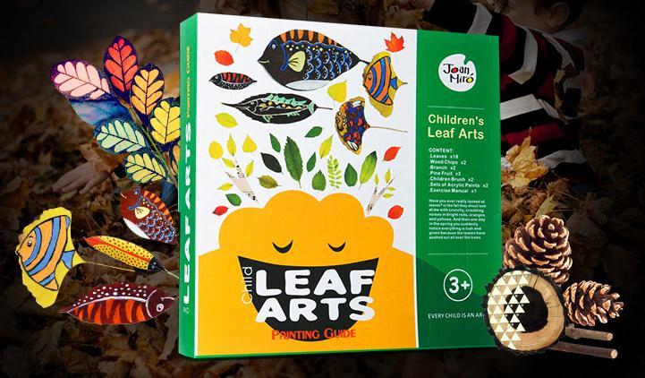 Joan Miro Children's Leaf Art ชุดทำศิลปะใบไม้