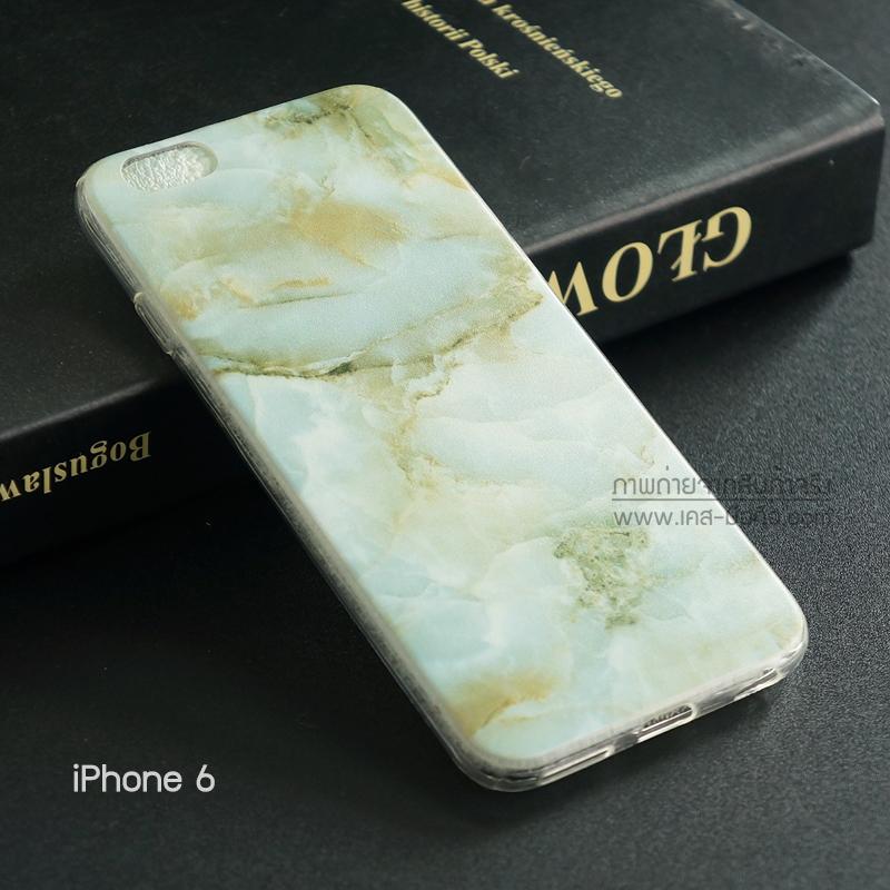 เคส iPhone 6 / 6s เคส TPU พิมพ์ลาย หยก