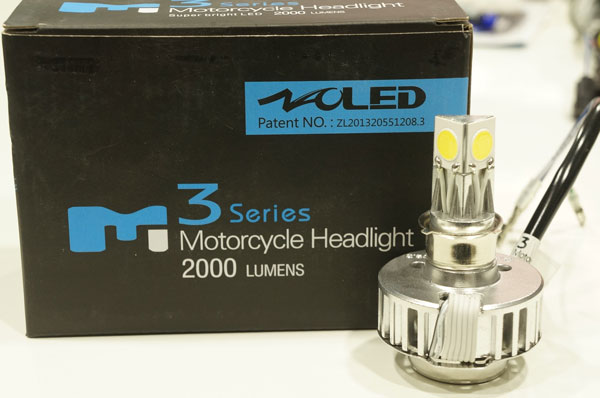 ไฟหน้า LED รถมอเตอร์ไซค์รุ่น 3 ชิป 2000LM ล้างสต๊อค-ไม่มีประกันครับ