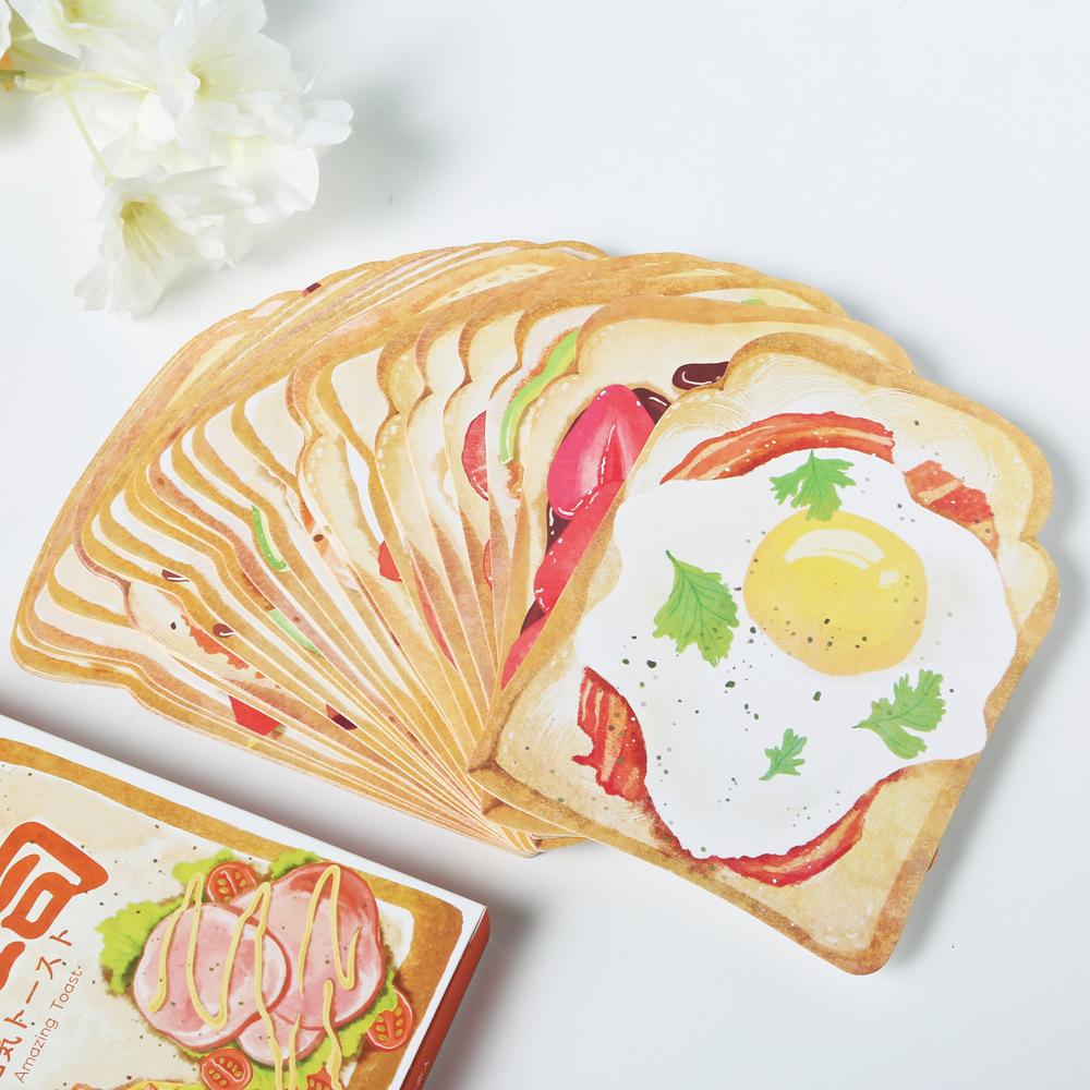 โปสการ์ดไดคัท - Amazing Toast