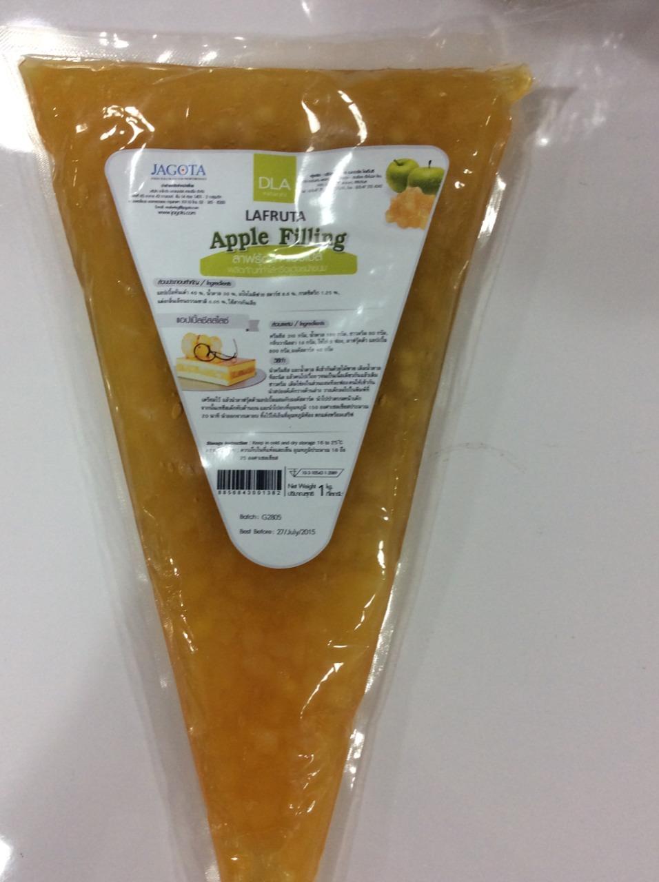 Lafruta apple filling