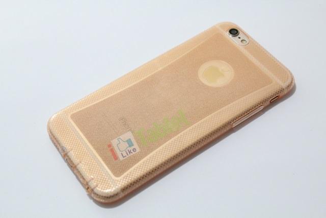 เคส IPhone 6 ซิลิโคน TPU นิ่มมือ สวยหรู สีโอรส ส่งฟรั