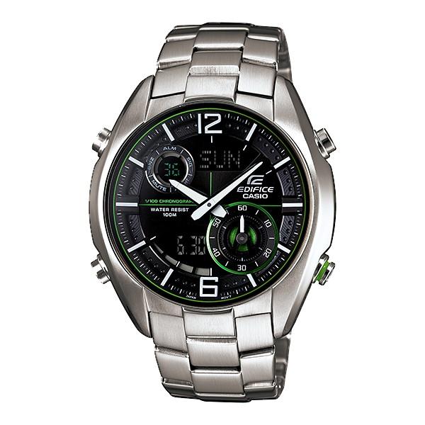 นาฬิกา คาสิโอ Casio Edifice Analog-Digital รุ่น ERA-100D-1A9V สินค้าใหม่ ของแท้ ราคาถูก พร้อมใบรับประกัน