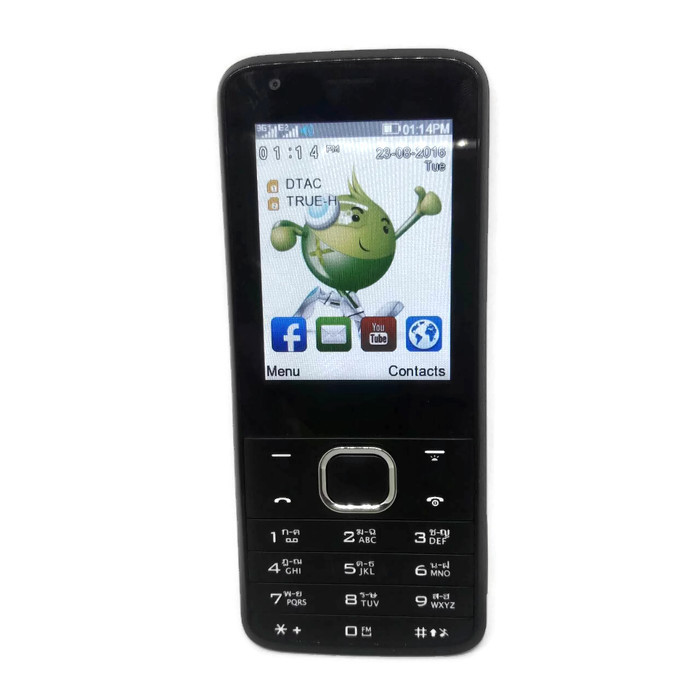 AIS MEMO 3G Phone Lava W3 (ใช้ได้ทุกซิม)ฟรีEMSเก็บเงินปลายทาง