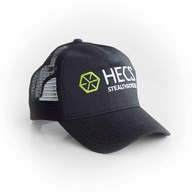 HECS CAP - BLACK