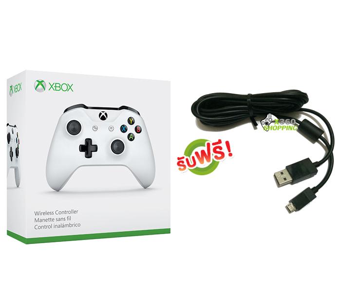 จอย Xbox One S Gen3 Controller (Wireless & Bluetooth) (สาย Micro USB) [XBOXONE/PC]