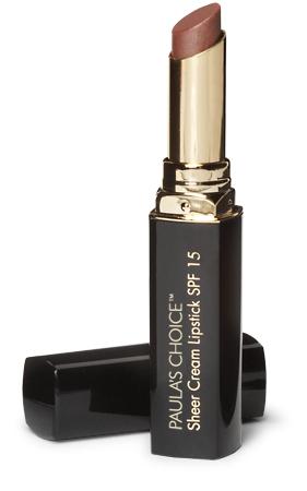 ลด 20 % PAULA'S CHOICE :: Sheer Cream Lipstick SPF 15 ลิปสติก สำหรับทุกสภาพผิว มี 6 สี