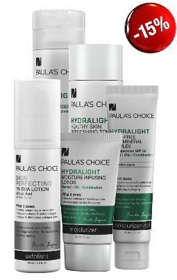 ลด 20 % PAULA'S CHOICE :: Hydralight Super Kit เซตบำรุงผิวสำหรับผิวมัน ผิวผสม แพ้ง่าย ช่วยลดสิว ต่อต้านอาการระคายเคือง ผิวชุ่มชื่น ป้องกันแสงแดด