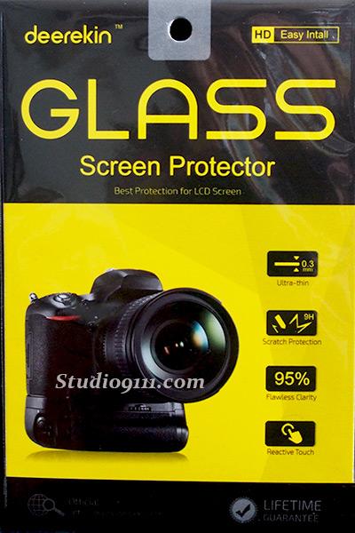 กระจกนิรภัยกันรอยจอ LCD สำหรับ NIKON D5600 D5500 D5300