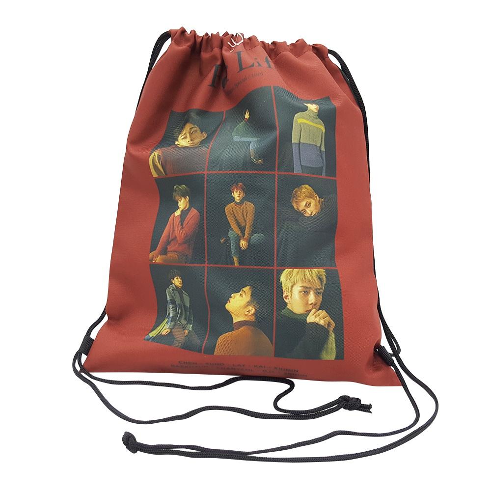 KEXB1 กระเป๋าผ้า EXO ของแฟนเมด ติ่งเกาหลี